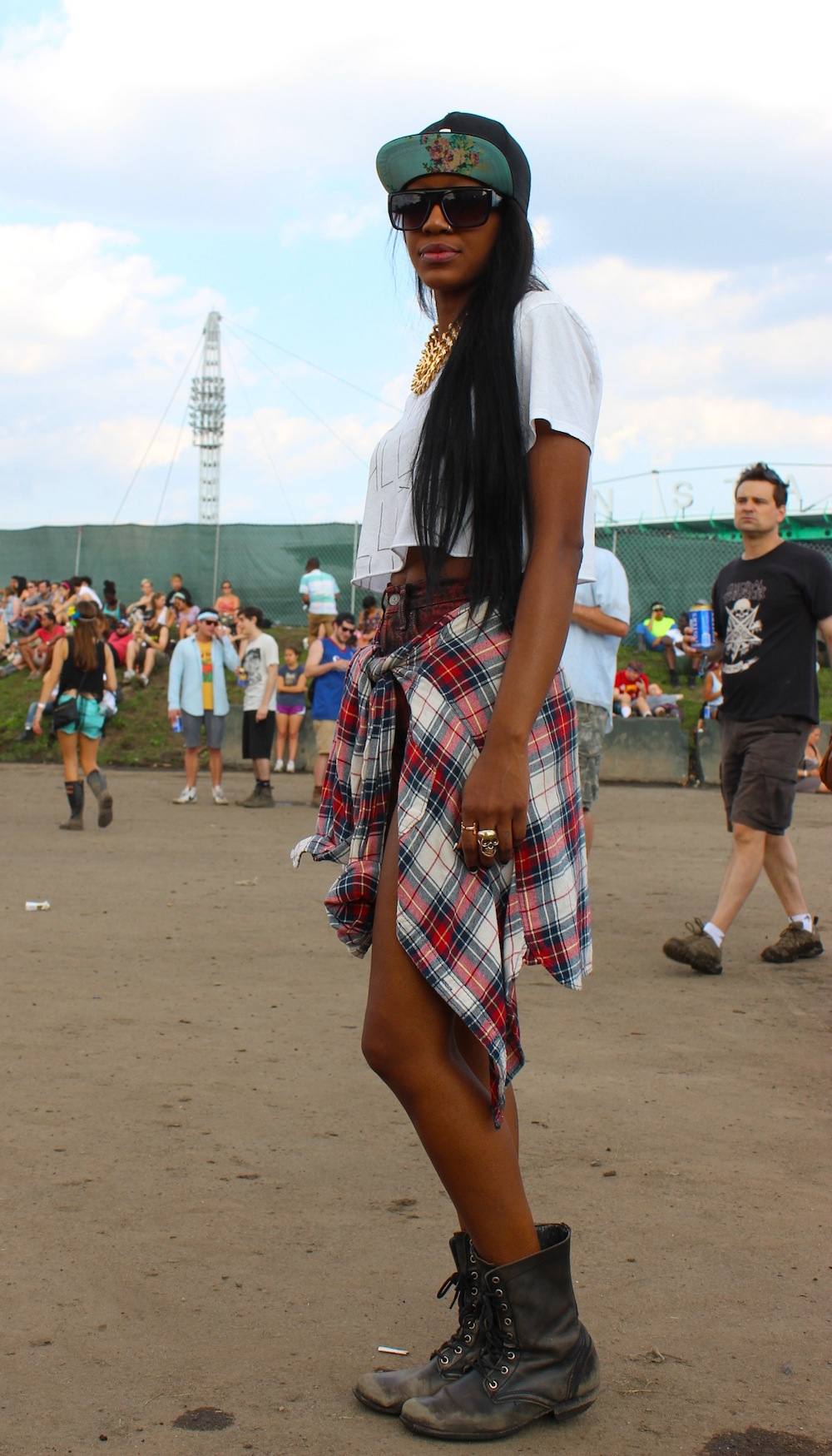 Leeann from New York at Governors Ball 2013 Style