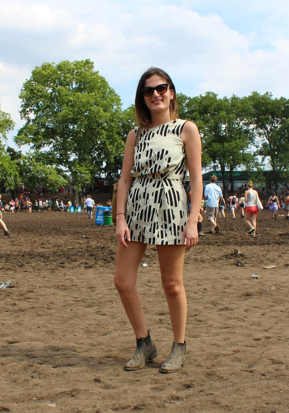 Tina from Australia at Governors Ball 2013 Style