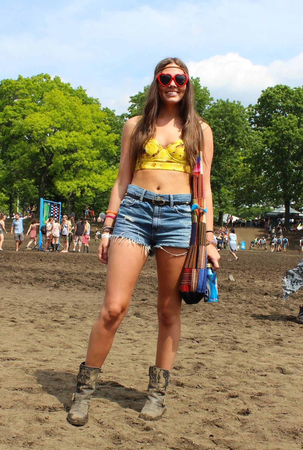 Victoria from Texas at Governors Ball 2013 Style
