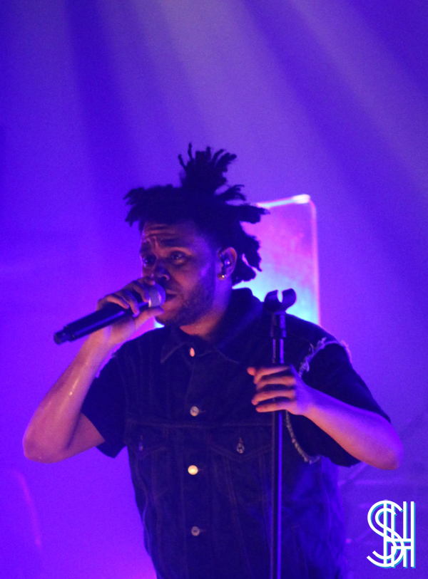 The Weeknd at the Mod Club Toronto Frowny