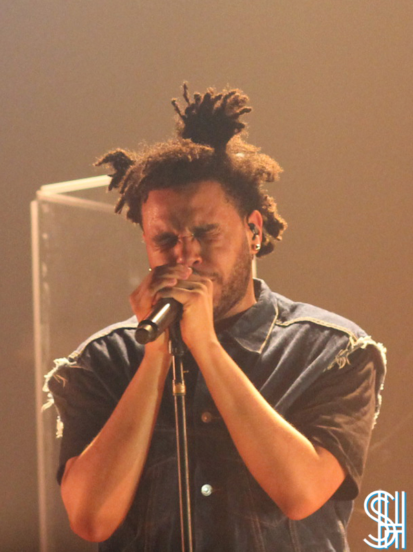 The Weeknd at the Mod Club Toronto eyes wide shut