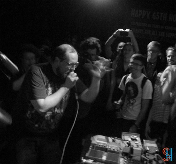 Dan Deacon at Horseshoe Tavern NXNE 2013-3