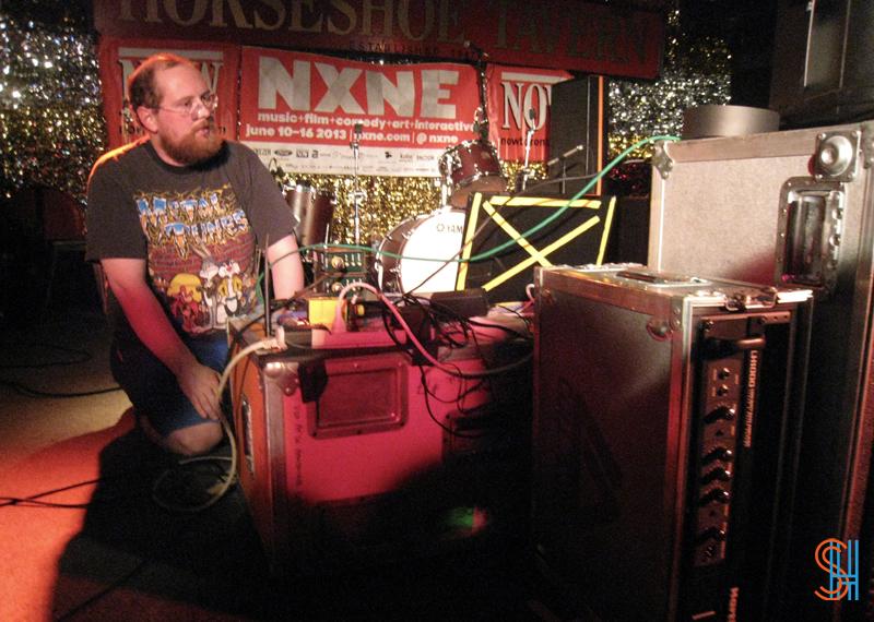 Dan Deacon at Horseshoe Tavern NXNE 2013