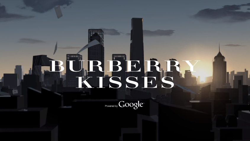 Burberry Kisses x Google