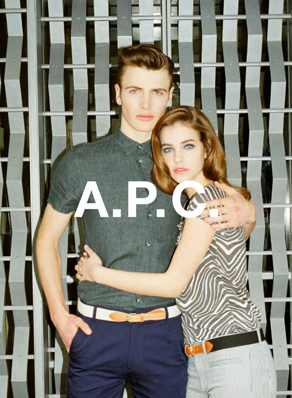 A.P.C. Fall Winter 2013 Campaign Preview