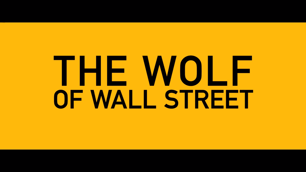The Wolf Of Wall Street Film Trailer Kanye Black Skinhead