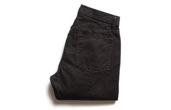 Black Denim Jeans Folded