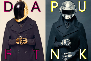 Daft Punk cover L Uomo Vogue July August 2013 Issue