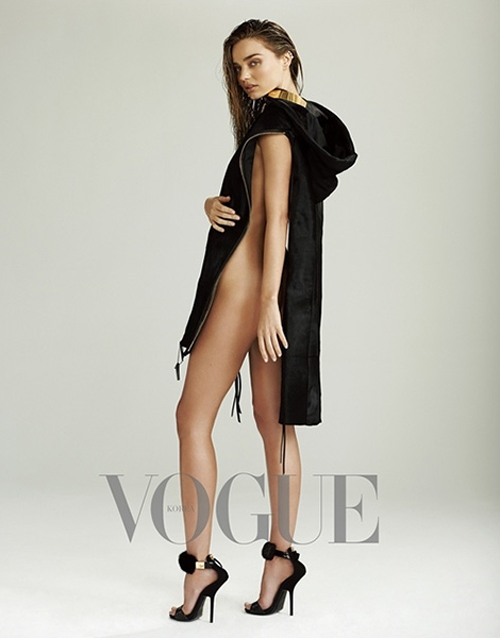 Miranda Kerr Covers Vogue Korea July 2013