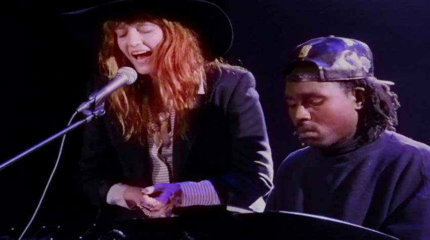 Dev Hynes Florence Welch