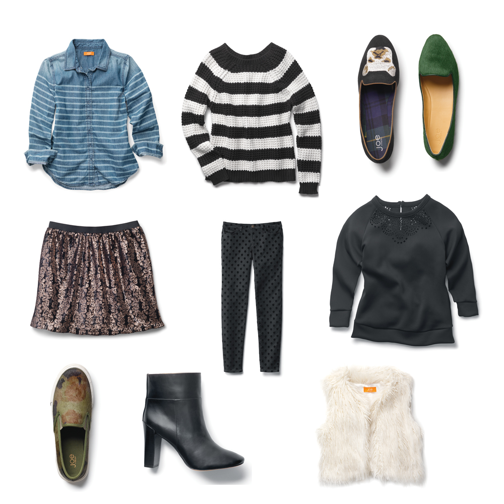 10 Must Have Items from Joe Fresh FW 2013