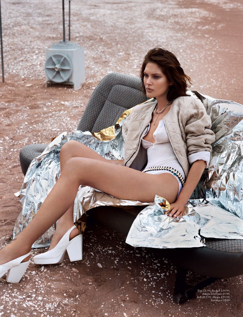 Catherine McNeil for H&M Magazine Summer 2013-10