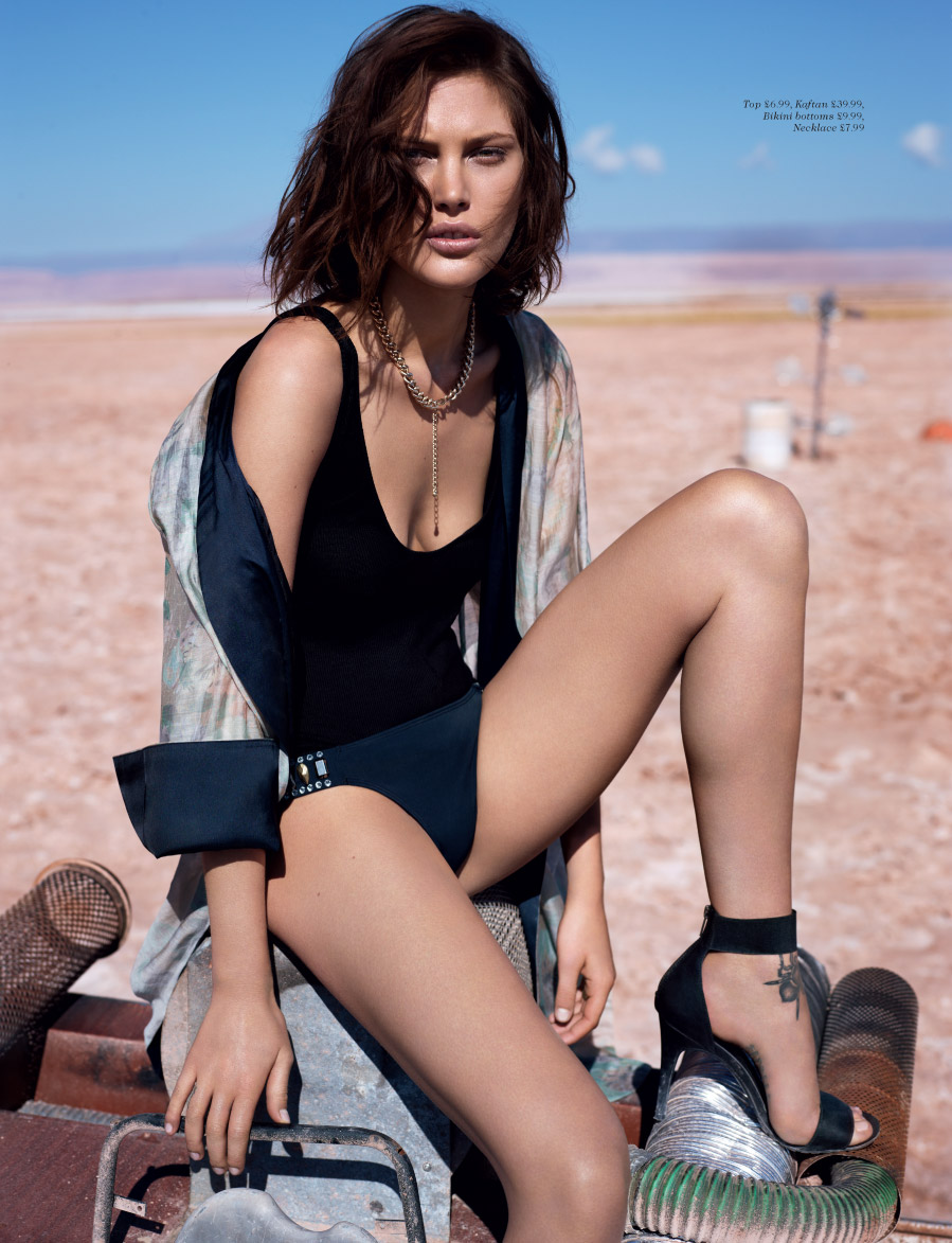 Catherine McNeil for H&M Magazine Summer 2013 -11