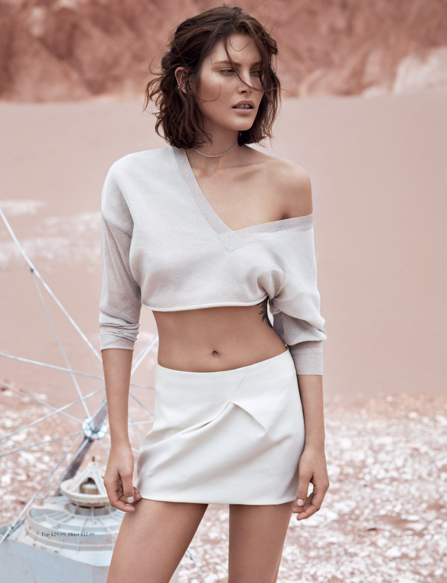 Catherine McNeil for H&M Magazine Summer 2013 -6