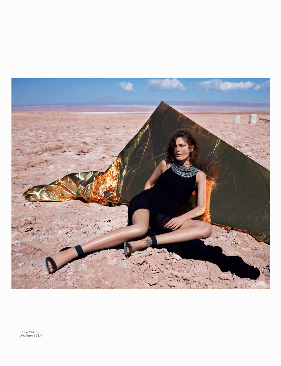 Catherine McNeil for H&M Magazine Summer 2013 -7