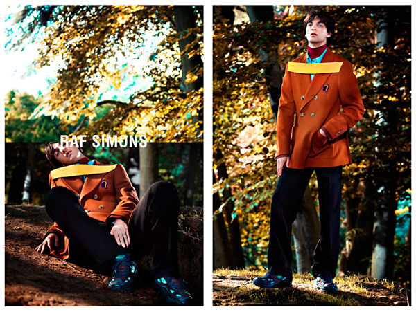 Raf Simons Fall Winter 2013 Campaign