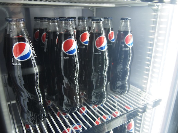 Pepsi Bottles at the Pepsi Pop Up Toronto