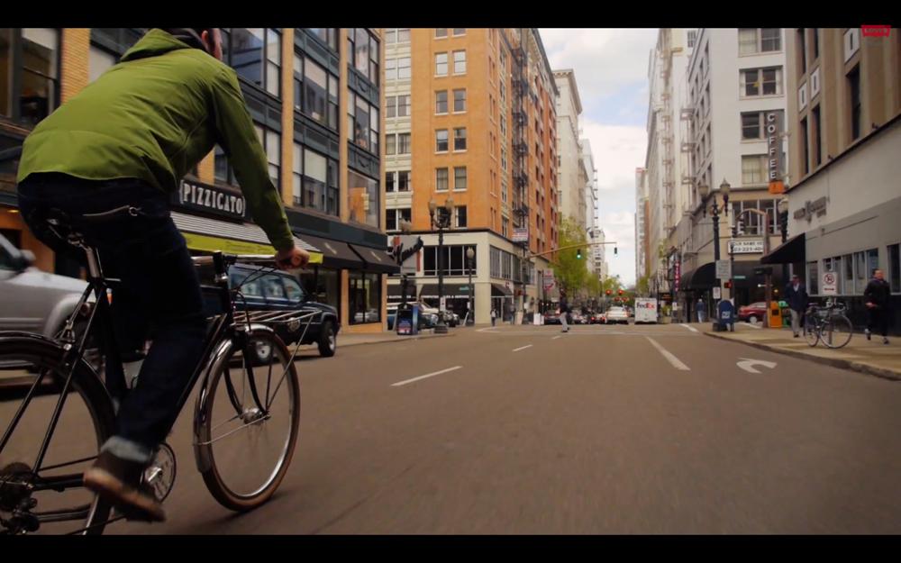 Levis Commuter Series Fall 2013 Video Lookbook