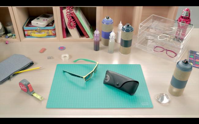Ray-Ban Remix the Customized Sunglasses Program