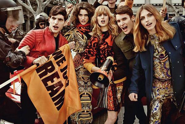 Just Cavalli Fall Winter 2013 Campaign