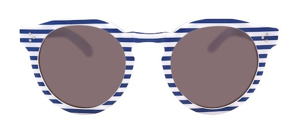 Illesteva Independence Day Sunglasses Blue