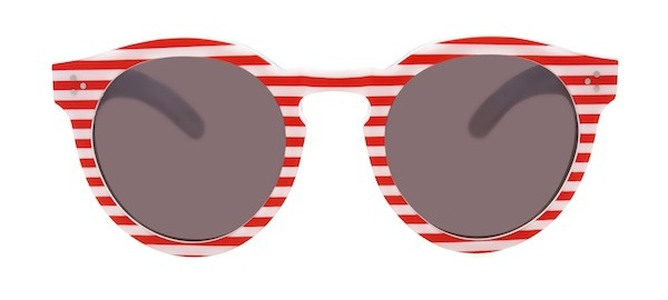 Illesteva Independence Day Sunglasses Red