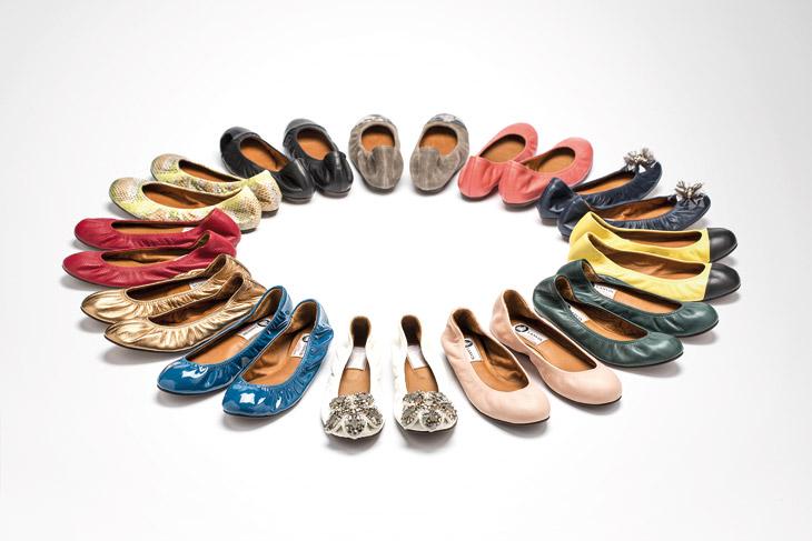 Lanvin Classic Ballet Slippers