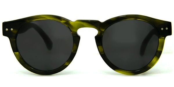 Illesteva Leonard Olive Sunglasses Front