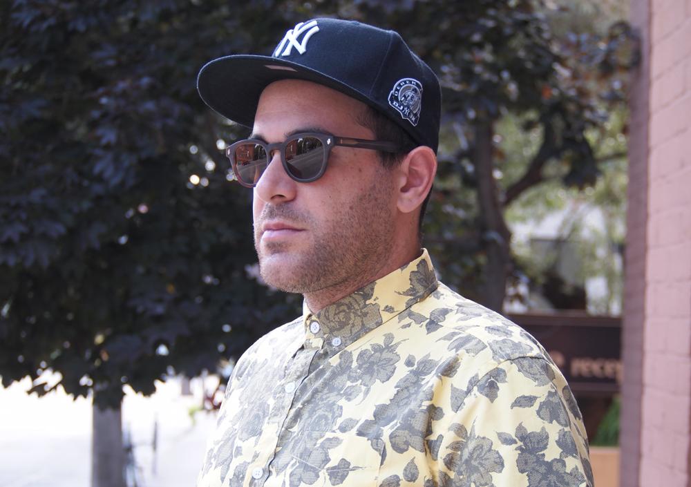 Street Style Mens Toronto Sidewalk Hustle - Sunglasses
