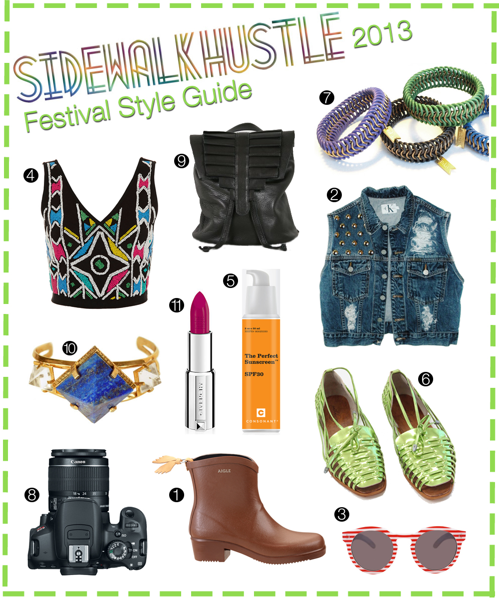 festival style guide 2013