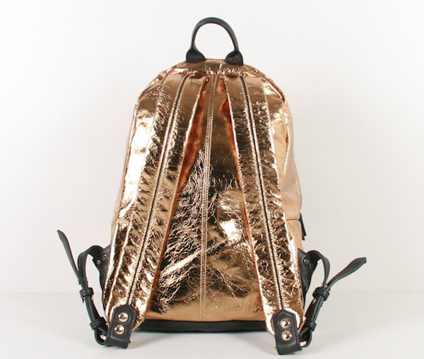 Dell'est Eagle Gold Foil Backpack Back