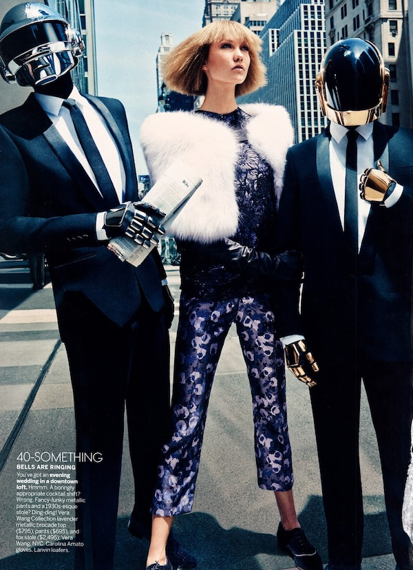 Karlie Kloss & Daft Punk for Vogue US-10