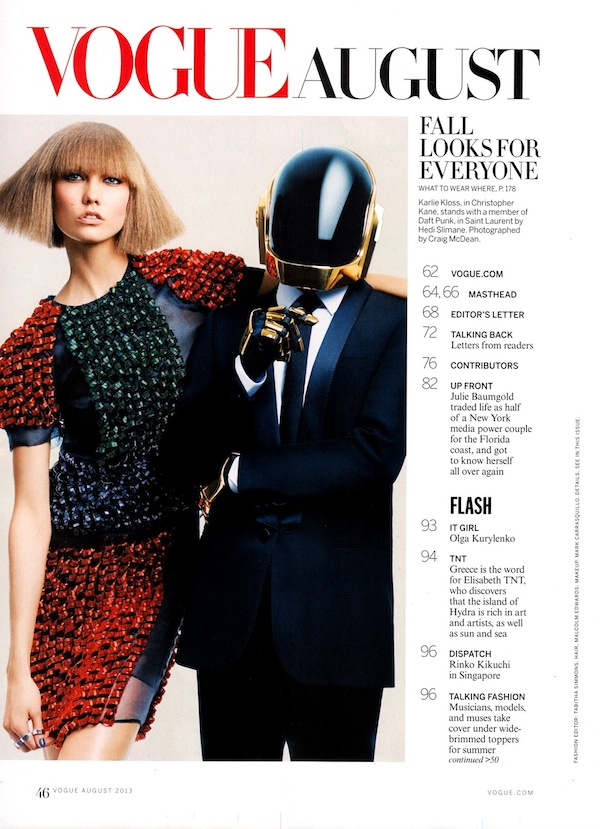 Karlie Kloss & Daft Punk for Vogue US-11