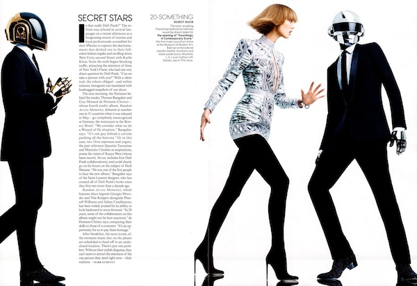 Karlie Kloss & Daft Punk for Vogue US-7