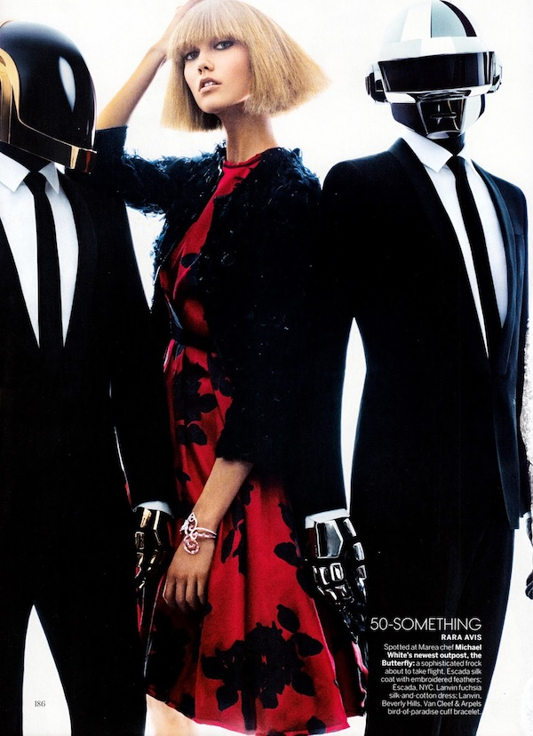 Karlie Kloss & Daft Punk for Vogue US-8