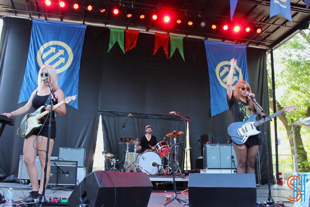 Frankie Rose Pitchfork Music Festival 2013 Full Band