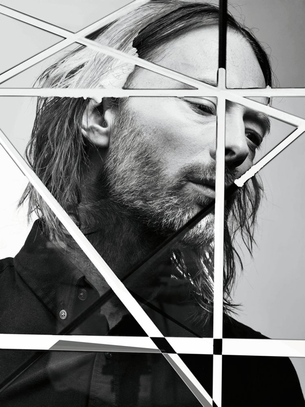 Thom Yorke for Interview Magazine August 2013