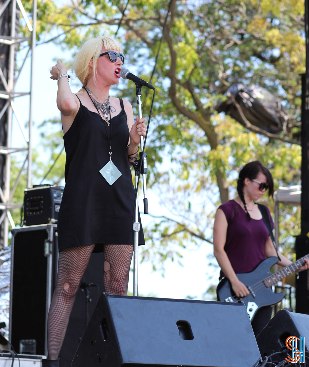 White Lung Pitchfork Music Festival 2013 Mish Way