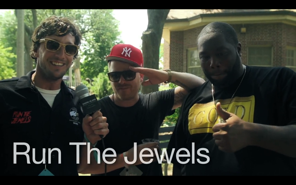 Goose Island x Run the Jewels at Pitchfork Music Festival 2013 Video