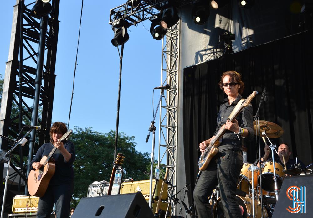 The Breeders at Pitchfork Music Festival 2013 - Drummer
