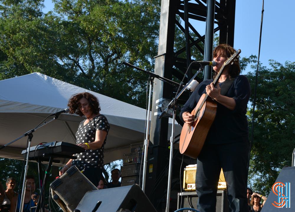 The Breeders at Pitchfork Music Festival 2013 - Singer Keyboard
