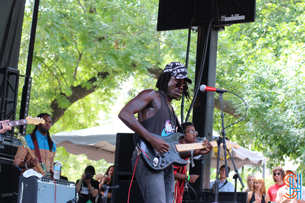 Blood Orange Pitchfork Music Festival 2013 Full band
