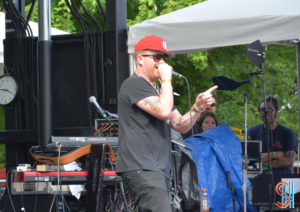 El-P at Pitchfork Music Festival 2013