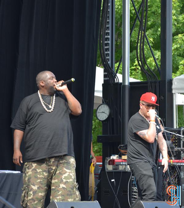 Killer Mike El-P at Pitchfork Music Festival 2013 - Run the Jewels