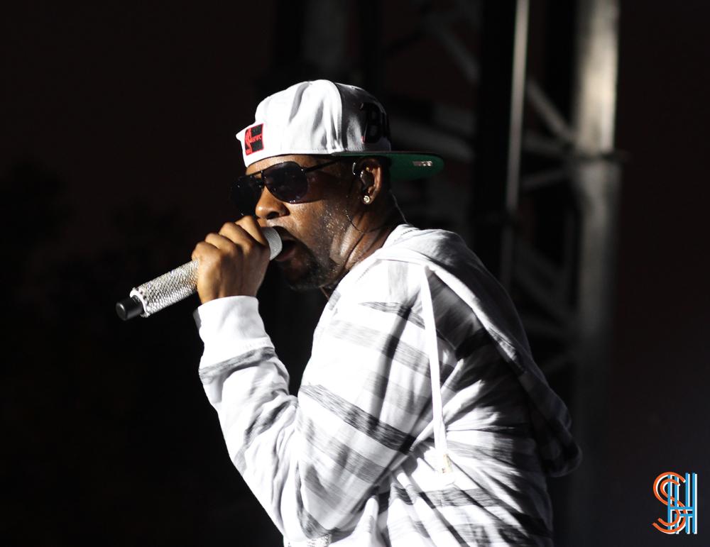R. Kelly at Pitchfork Music Festival 2013 | Sidewalk Hustle
