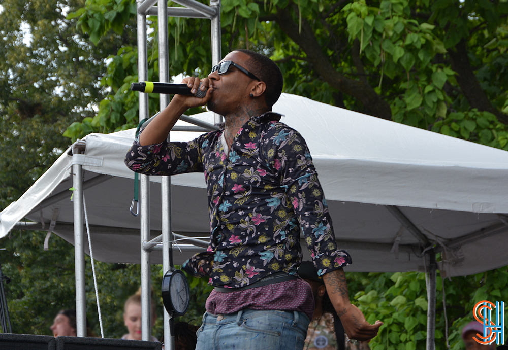 Lil B at Pitchfork Music Festival 2013