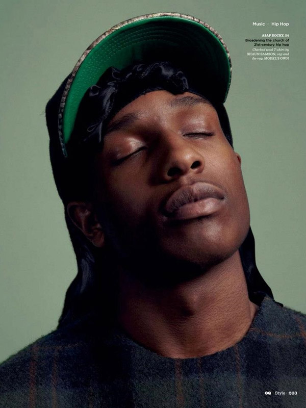 ASAP ROCKY Bigger Than Hip Hop Spring Summer 2013 GQ