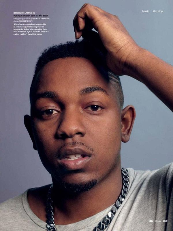 Kendrick Lamar Bigger Than Hip Hop Spring Summer 2013 GQ