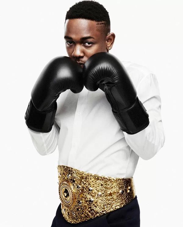 Kendrick Lamar by Bjarne Jonasson for Bullett Magazine