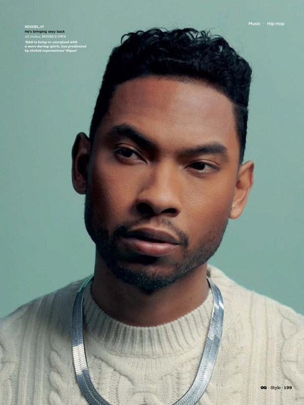 Miguel Bigger Than Hip Hop Spring Summer 2013 GQ Style UK